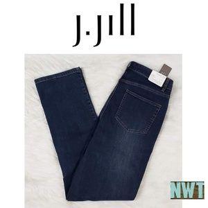 J. Jill Straight Leg Jeans 10 NWT